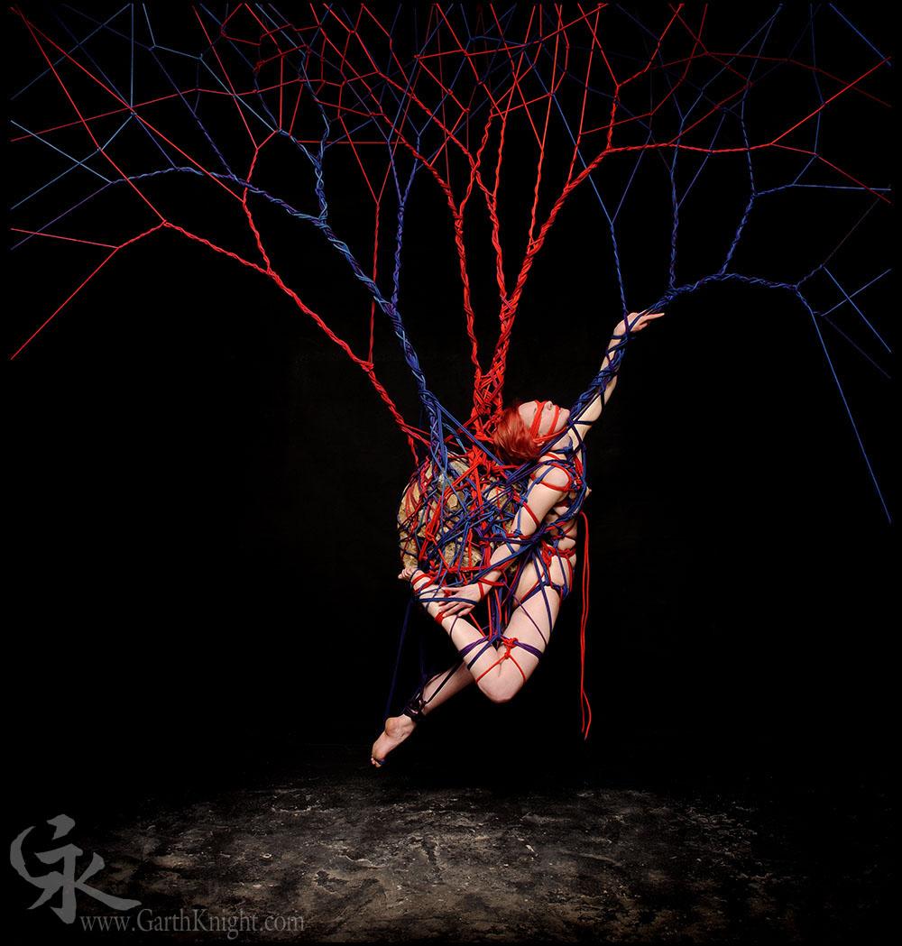 Rope artist bondage