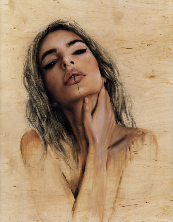 Charmaine Olivia Gaia Beautiful Bizarre Magazine Painting
