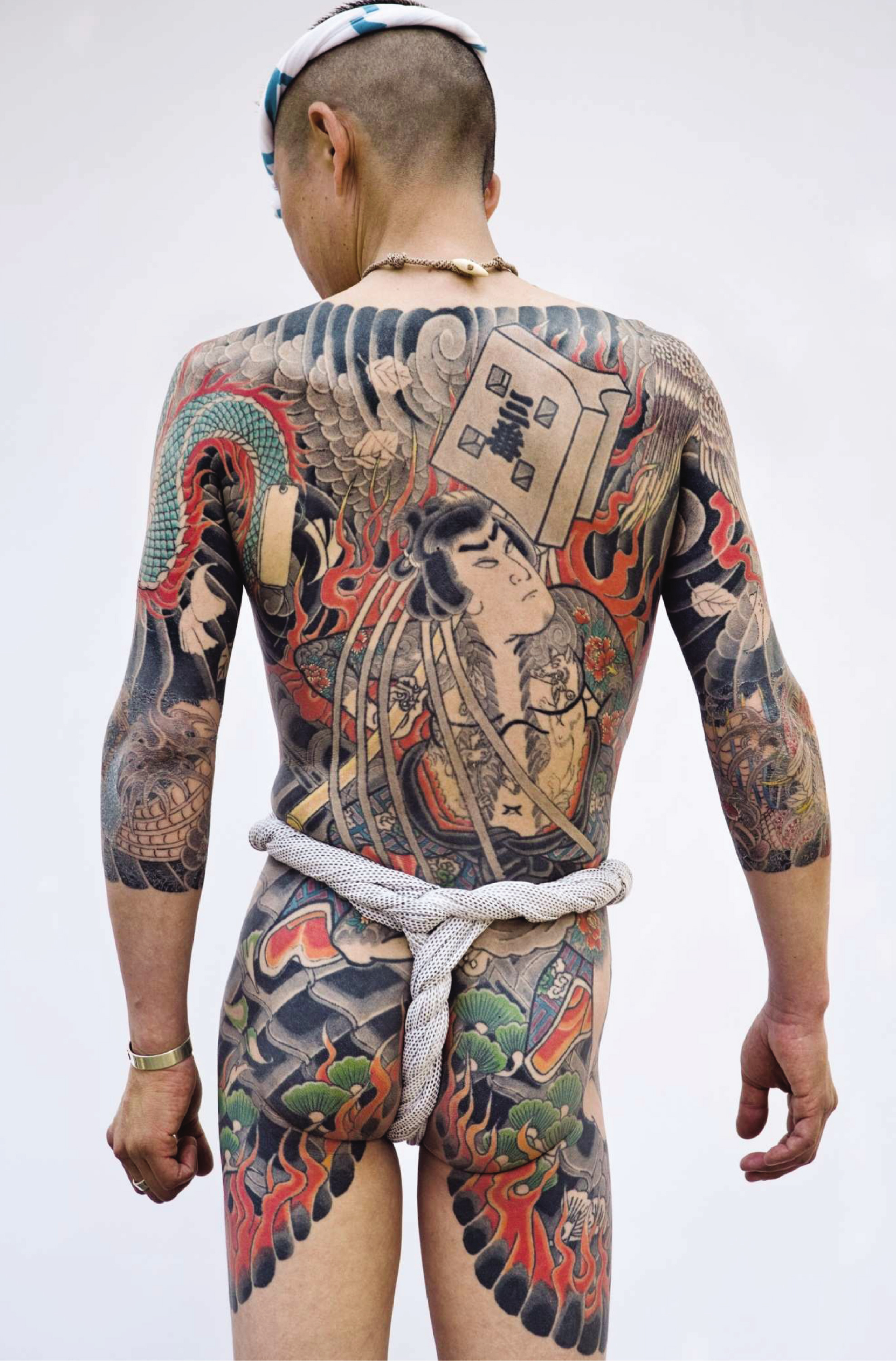 Tattooists tattooed quai branly museum for Oriental tattoo