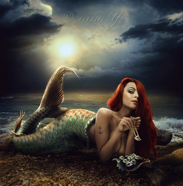 The_ Little_ Mermaid_ A _Glorious_ Day_ Out_nina_y_beautifulbizarre9