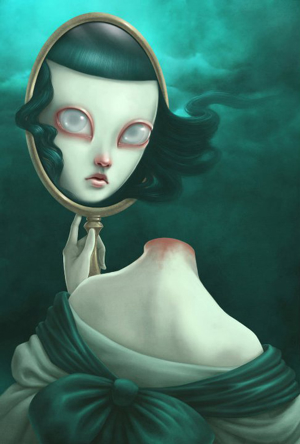 Paolo Pedroni beautiful bizarre pop-surrealism digital art