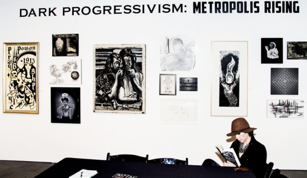 dark progressivism, la art show 2015