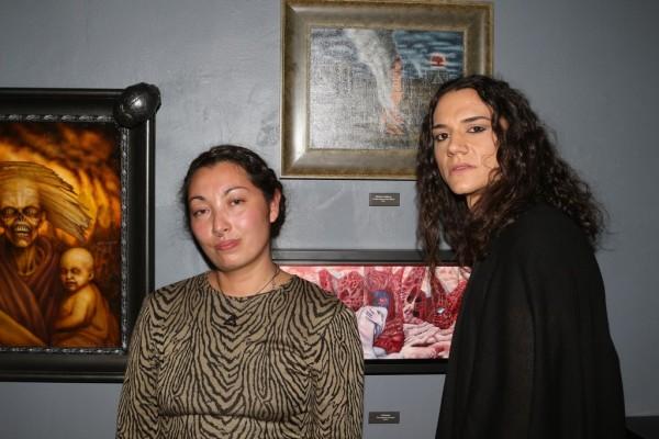conjoined v, copro gallery, chet zar, meesha goldberg