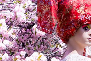 Naoko Tachibana @ Vanilla Gallery, 「女装の軌跡と幸福論」 feat. Yukiro Dravarious - Preview by beautiful.bizarre magazine
