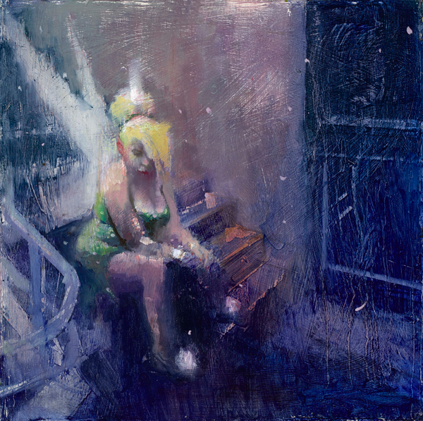 """""""Stairway to Heaven"""" by William Wray @ Merry Karnowsky Gallery"""