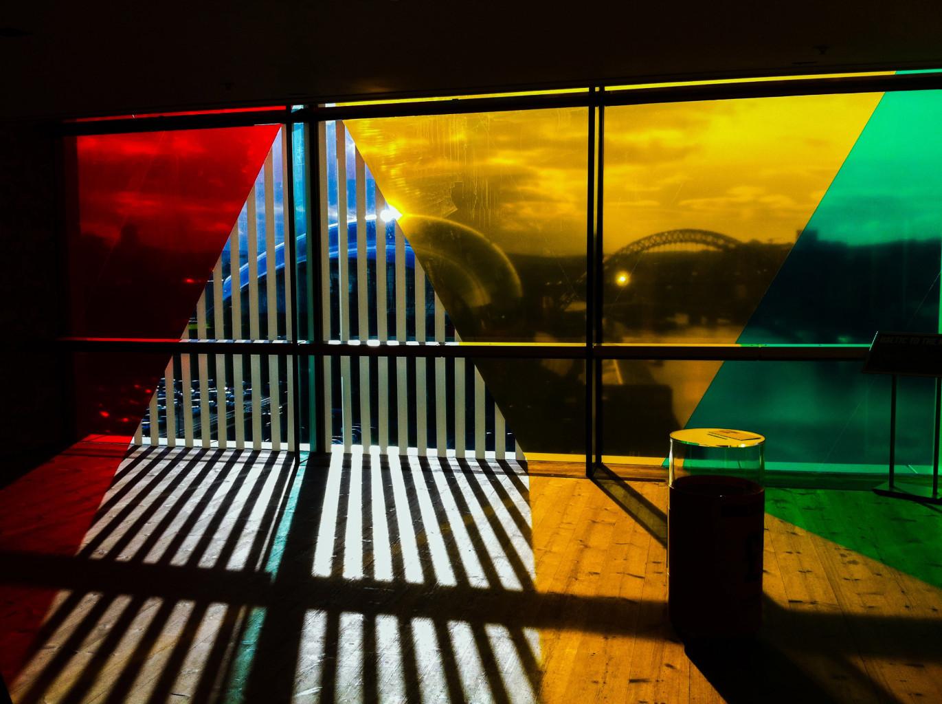 City through the colours