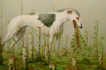Martin Wittfooth Painting 1