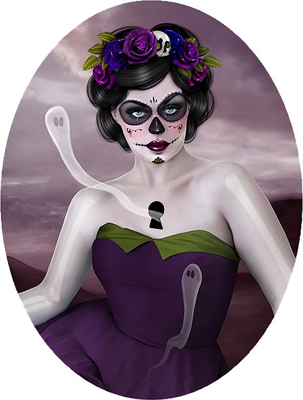 Aunia Kahn - Santa Muerte @ Baker Hesseldenz via beautiful.bizarre