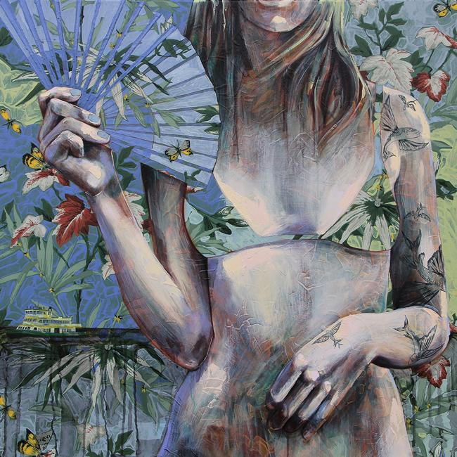 Jessica Watts - Fish Will Fly   Debutante @ 19Karen Contemporary Artspace - via beautiful.bizarre
