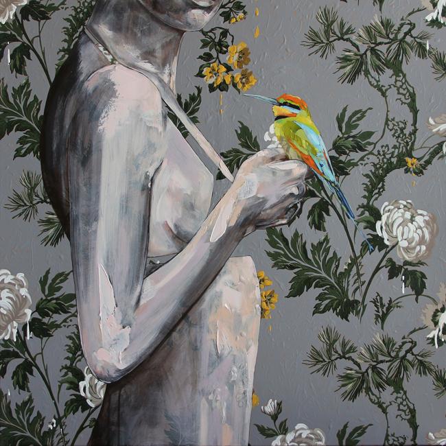 Jessica Watts - Debutante   Debutante @ 19Karen Contemporary Artspace - via beautiful.bizarre