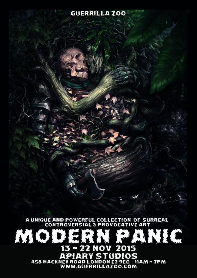 Modern Panic 6 Flyer Poster