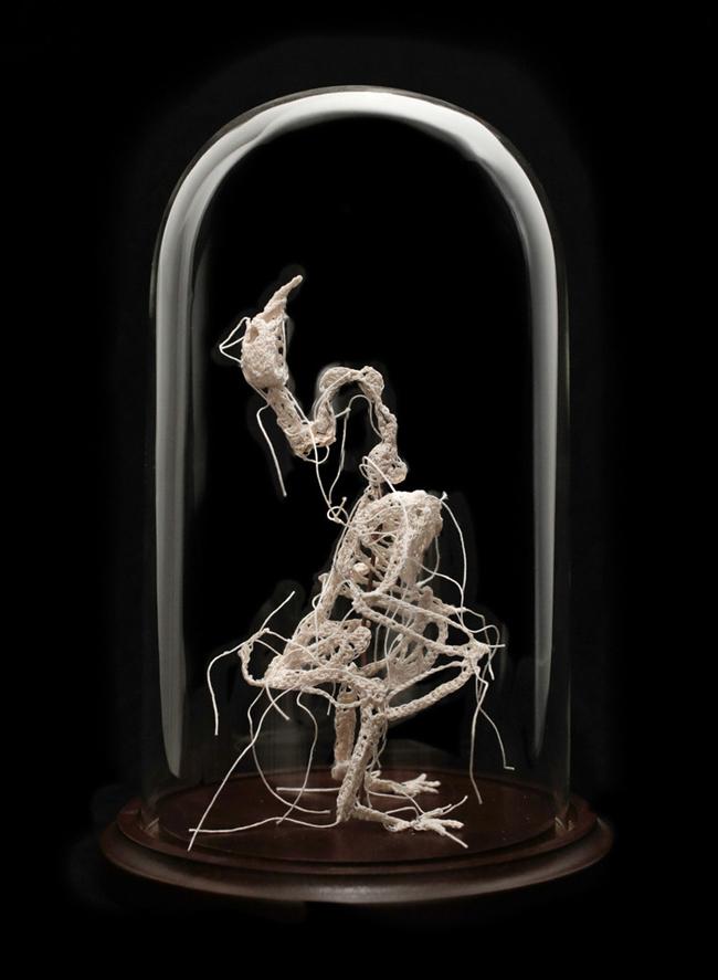Chillblain by Caitlin McCormack @ Paradigm Gallery - via beautiful.bizarre