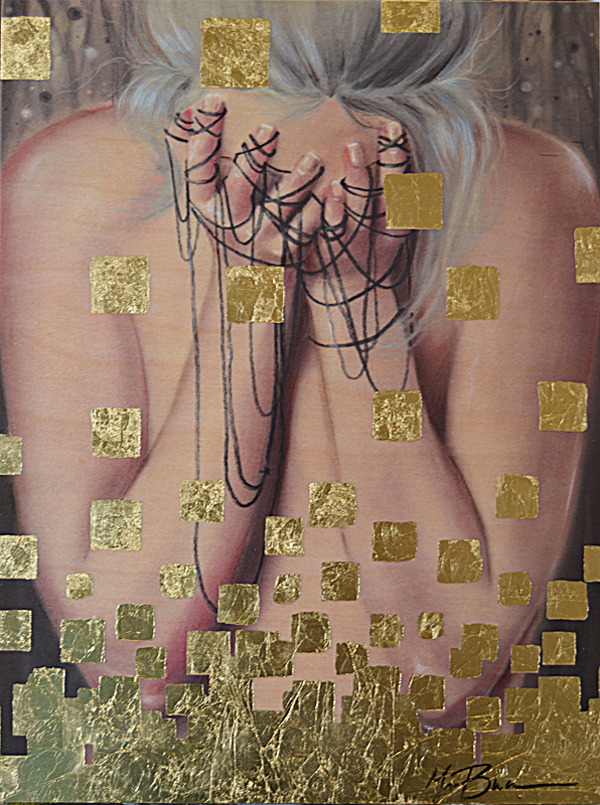 'Live Again' by Megan Buccere - Prints on Wood Show @ Distinction Gallery, Escondido