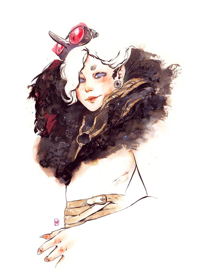 saucy_female_figures_of_chuma_hill_beautifulbizarre9