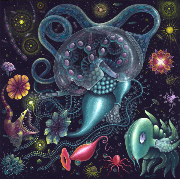 """Siphonophore"" by Robert Steven Connett"