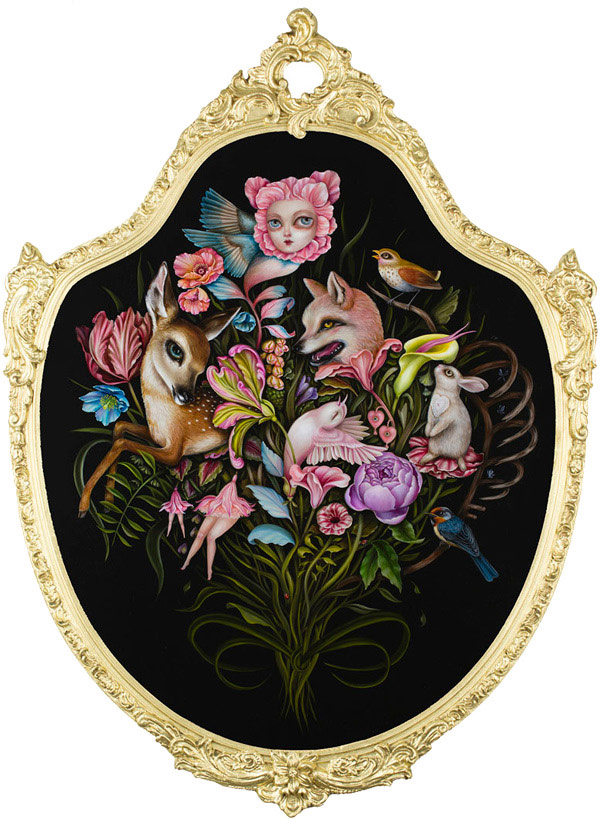 Jennybird Alcantara x Haven Gallery @ SCOPE Miami 2016 booth C13 - via beautiful.bizarre