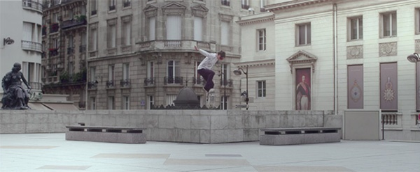 projection, skateboarding