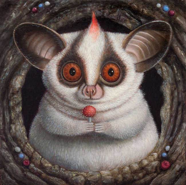 julie_fillipenko_beautifulbizarre_005 Little Big II Annual Small Works Group Show @ Haven Gallery - via beautiful.bizarre