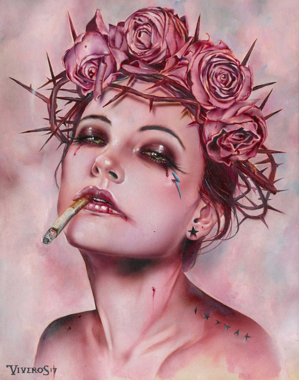 Brian Viveros, Music Box II @ Haven Gallery - via beautiful.bizarre