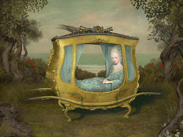 "Ray Caesar: ""Tainted"" @ Gallery House - via beautiful.bizarre"