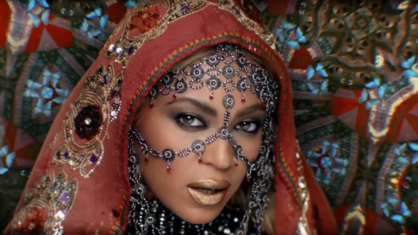 Beyonce is wearing House of Malakai