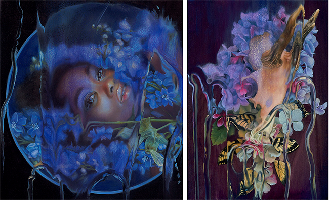 Kari-Lise Alexander's Night Garden and Stage pieces.