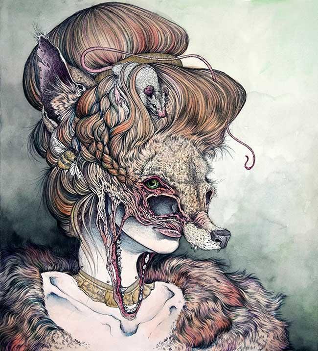 Beautiful Bizarre: Caitlin Hackett