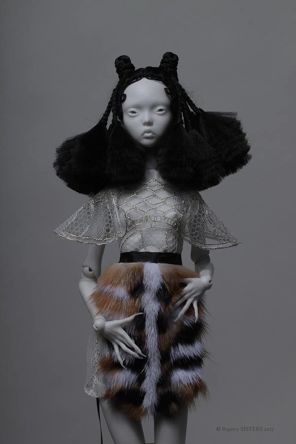 Popovy Sisters: A Dollhouse Haunted By Haute Couture