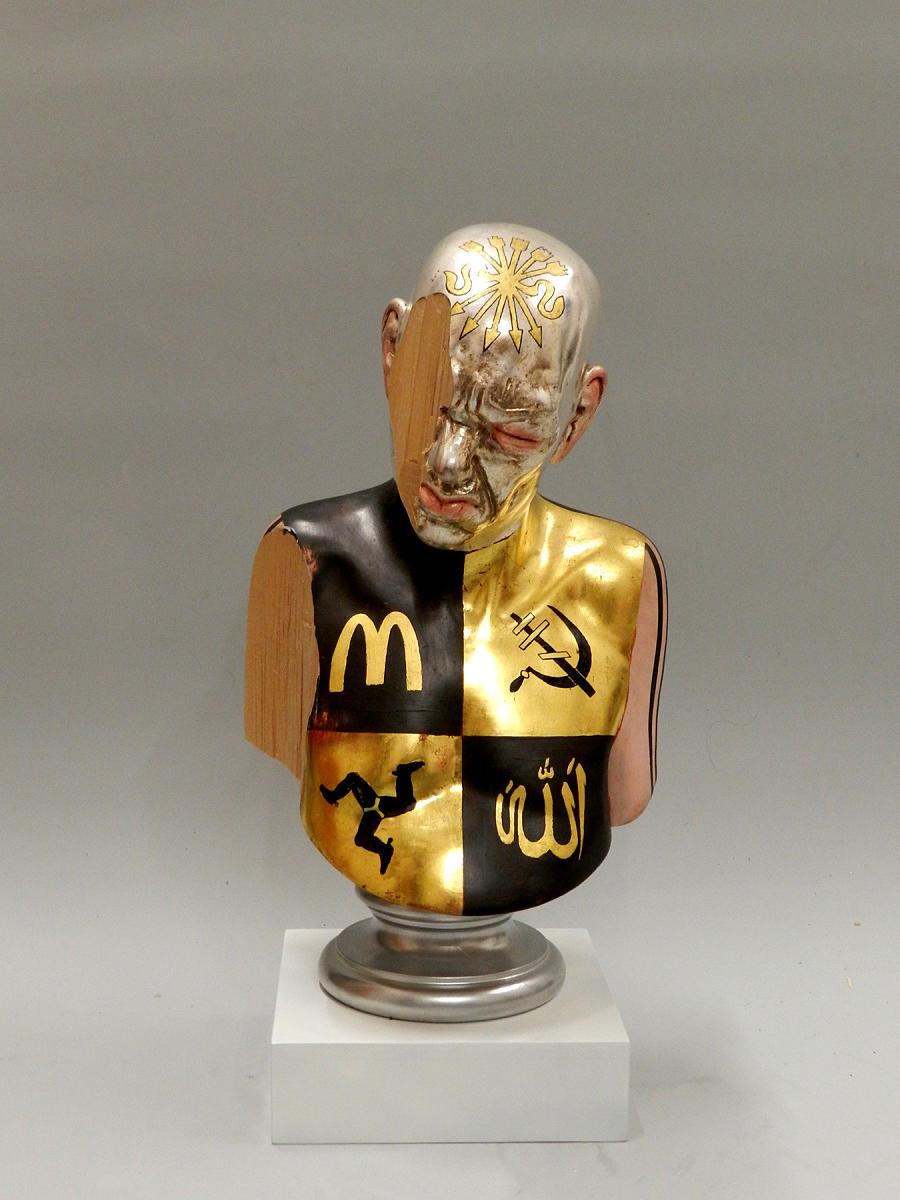 richard stipl surreal logo figure sculpture