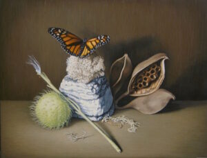 Susan-McDonnell-Monarch&Milkweed
