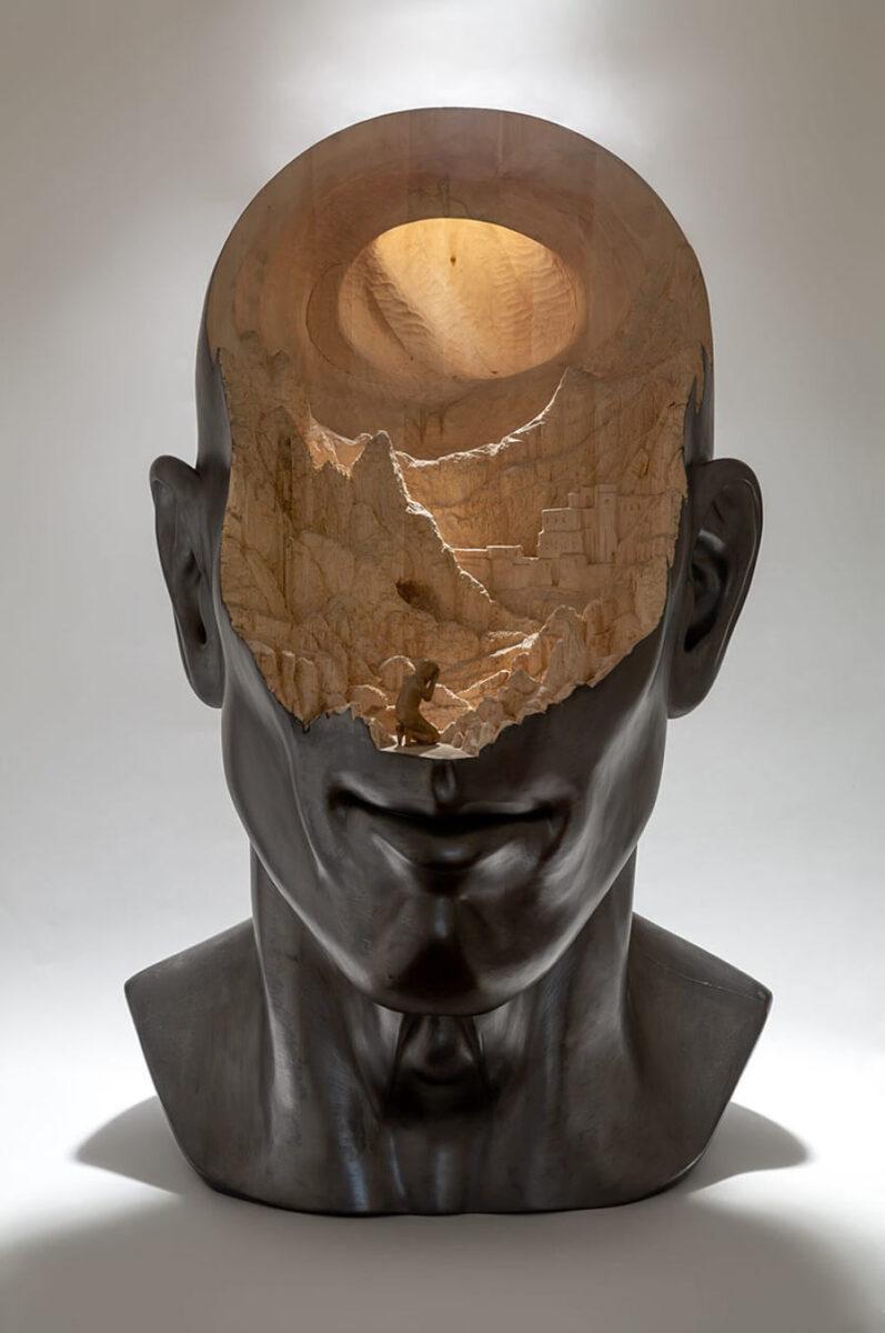 Richard Stipl surreal sculpture
