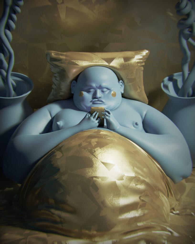 RWR2 blue man